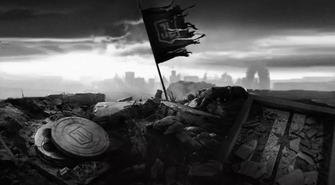 Zack Snyder Justice League Flag