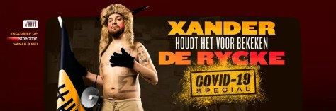 Xander De Rycke Houdt het voor bekeken COVID Special komt op 3 mei 2021 naar Streamz