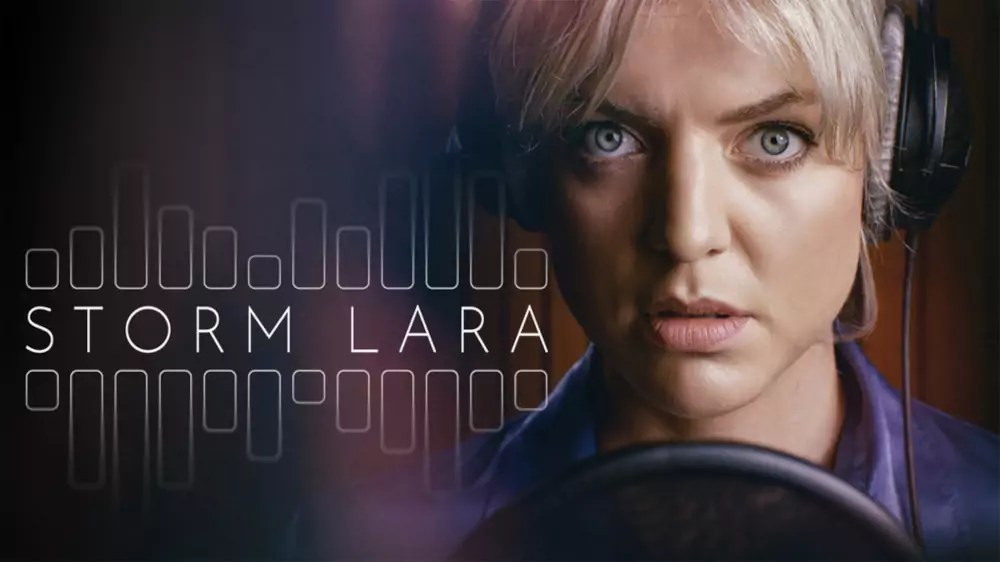 Storm Lara banner op Streamz