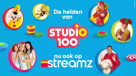 Studio 100-shows komen naar Streamz vanaf 15 september 2021