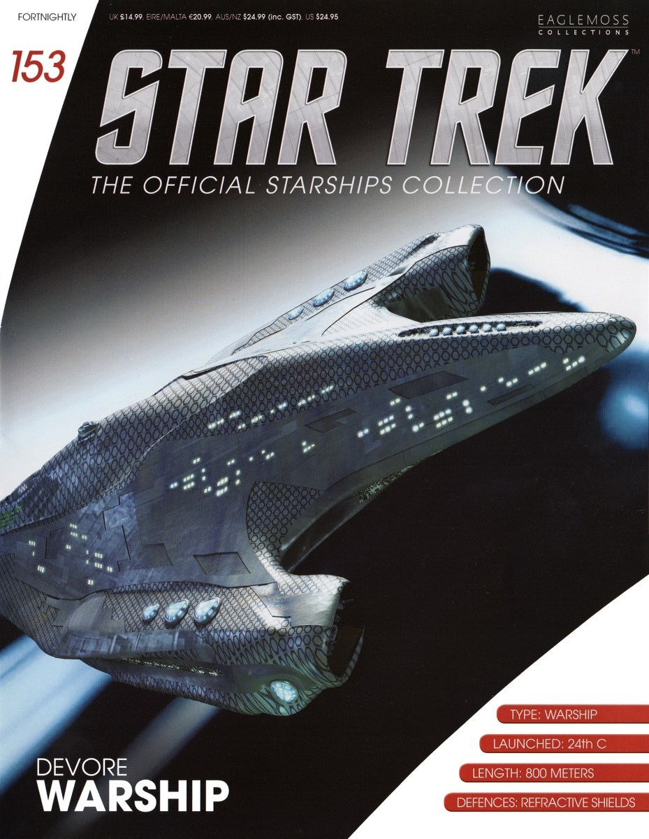 Star Trek The Official Starships Collection 153 Star Trek: The Official Starships Collection #153 Devore Warship