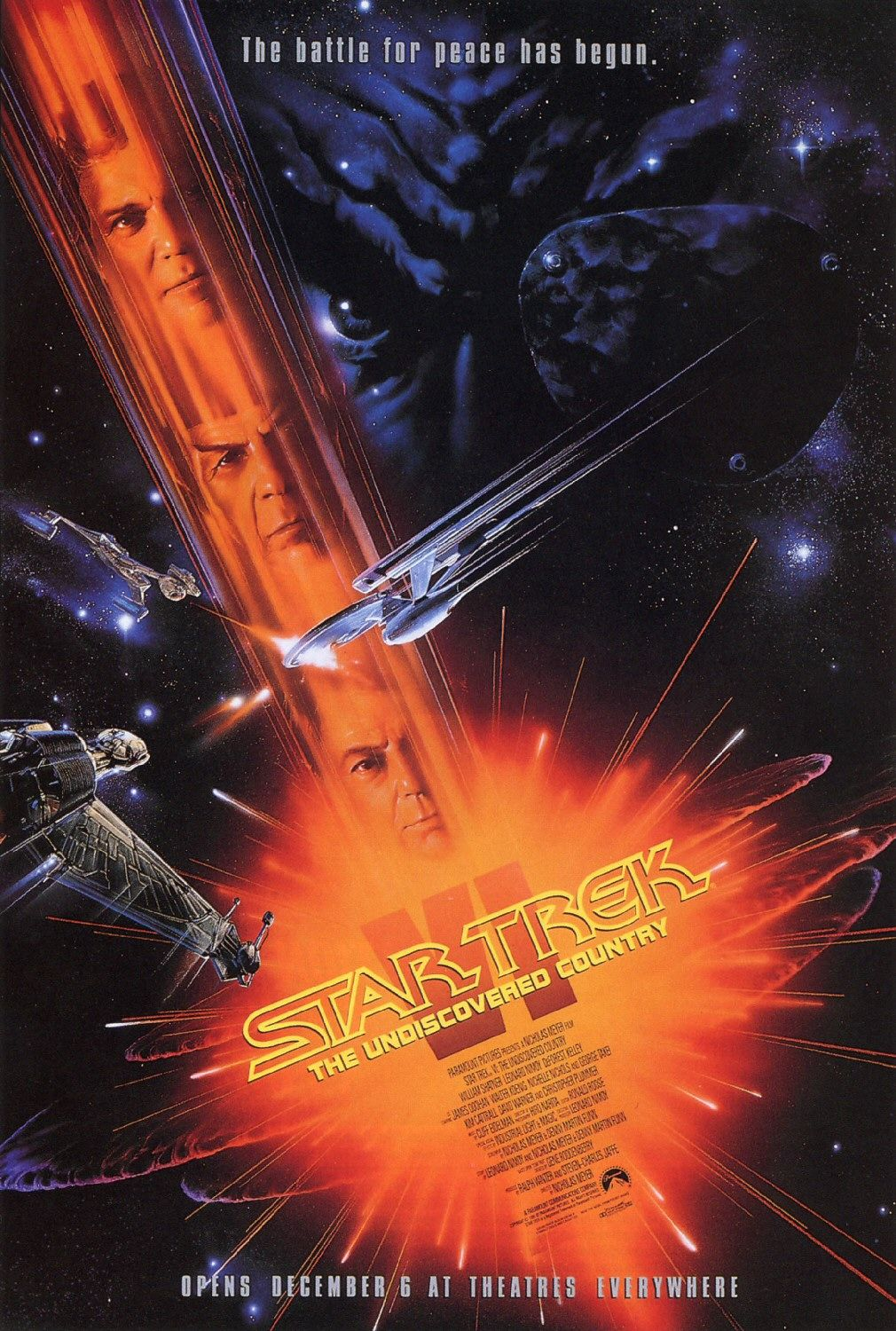 Star Trek VI The Undiscovered Country Review