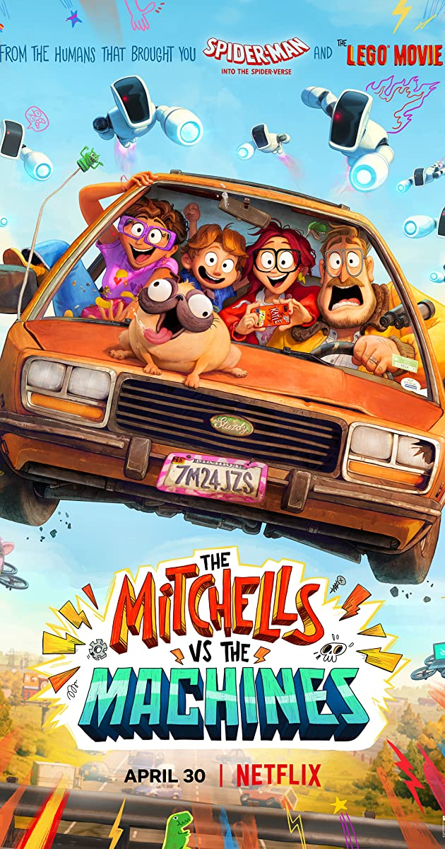 The Mitchells vs the Machines Review