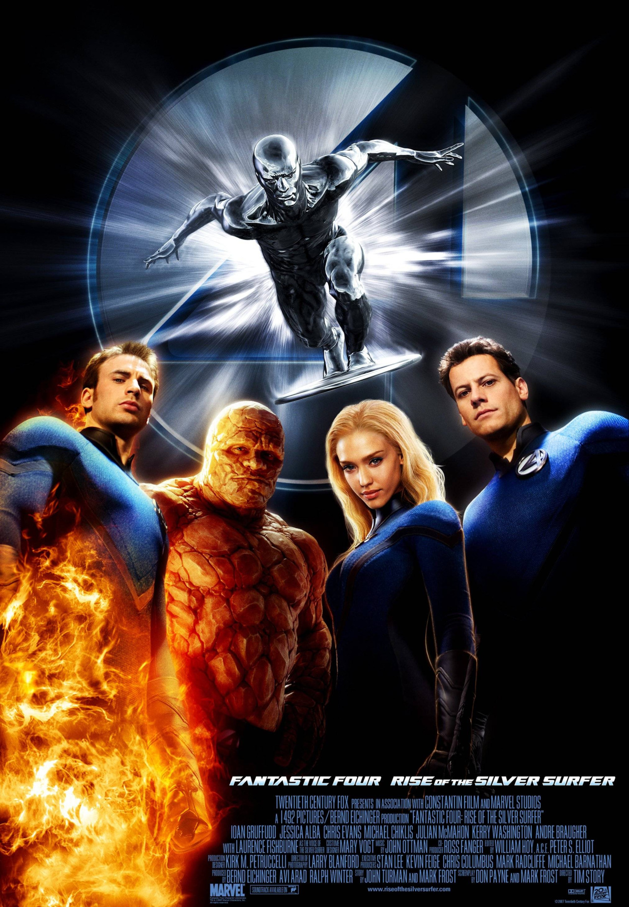 Fantastic 4 Rise of the Silver Surfer Review