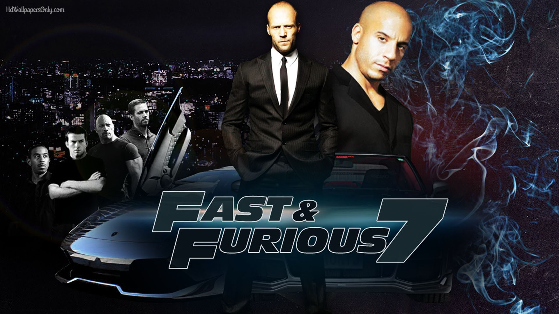 Wallpaper Woody Car Fast Amp Furious 7 A Fitting Tribute To Paul Walker