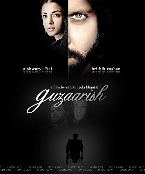 Guzaarish Movie poster and trailer 2010