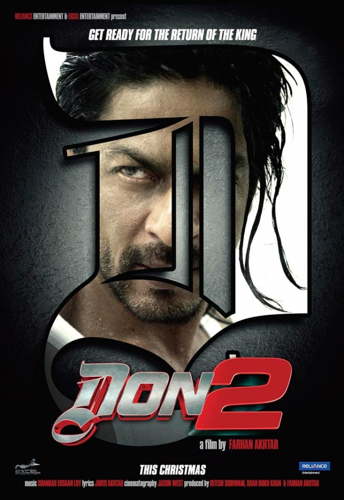 Don 2 Movie Poster And Trailer 2011