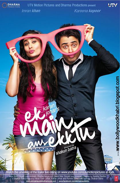 Ek Main Aur Ekk Tu Movie Poster And Trailer 2012