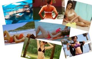 Top 10 bollywood actresses wearing bikini on big screen