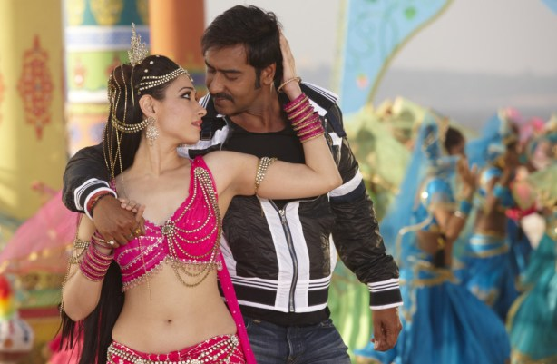 Ajay Devgn and Tamannaah in a Song from Himmatwala
