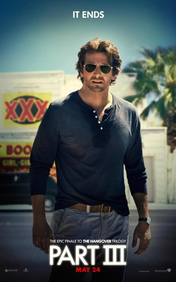 Bradly Kooper Poster - The Hangover Part 3