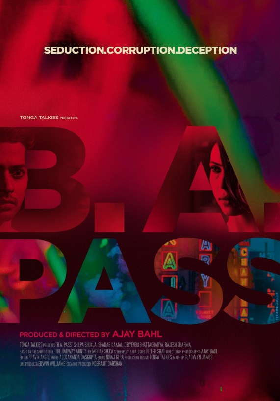 B.A. Pass Movie Poster 2013
