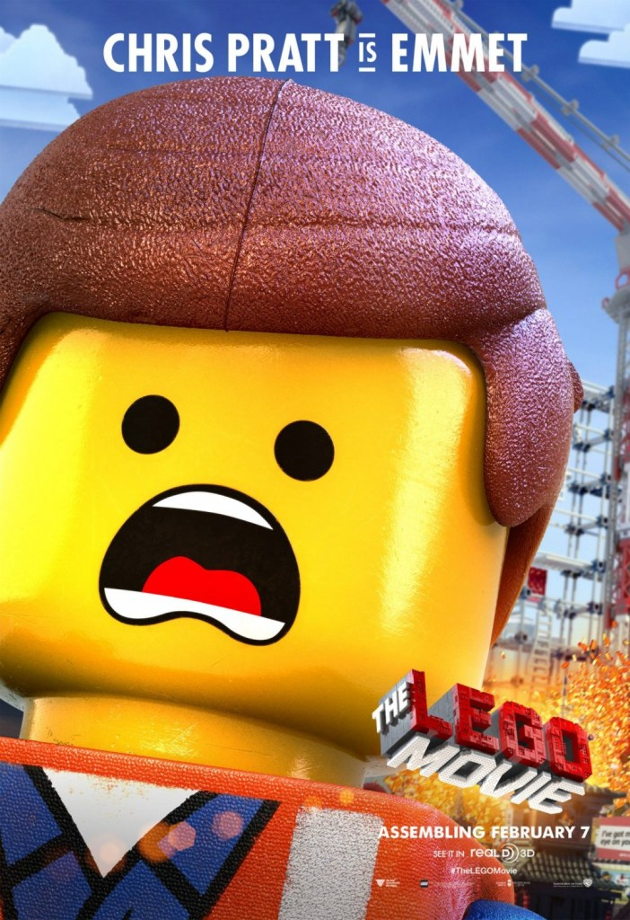 The Lego Movie Poster 8