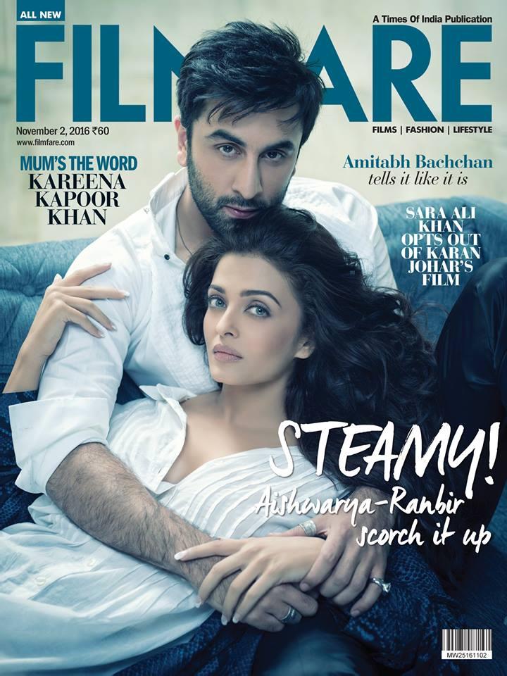 Aishwarya Rai On Filmfare Magazine November 2016 issue
