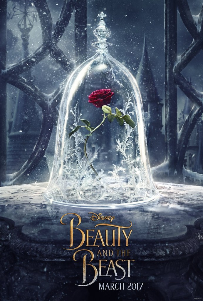 Beauty and the Beast Poster 2- India Release