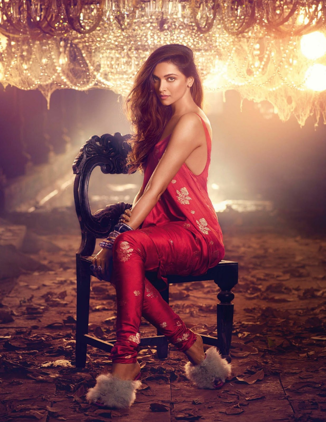 Deepika Padukone on Vogue India Magazine Cover November ...