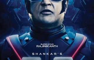 First Look of Rajnikanth in Robot 2.0 Poster