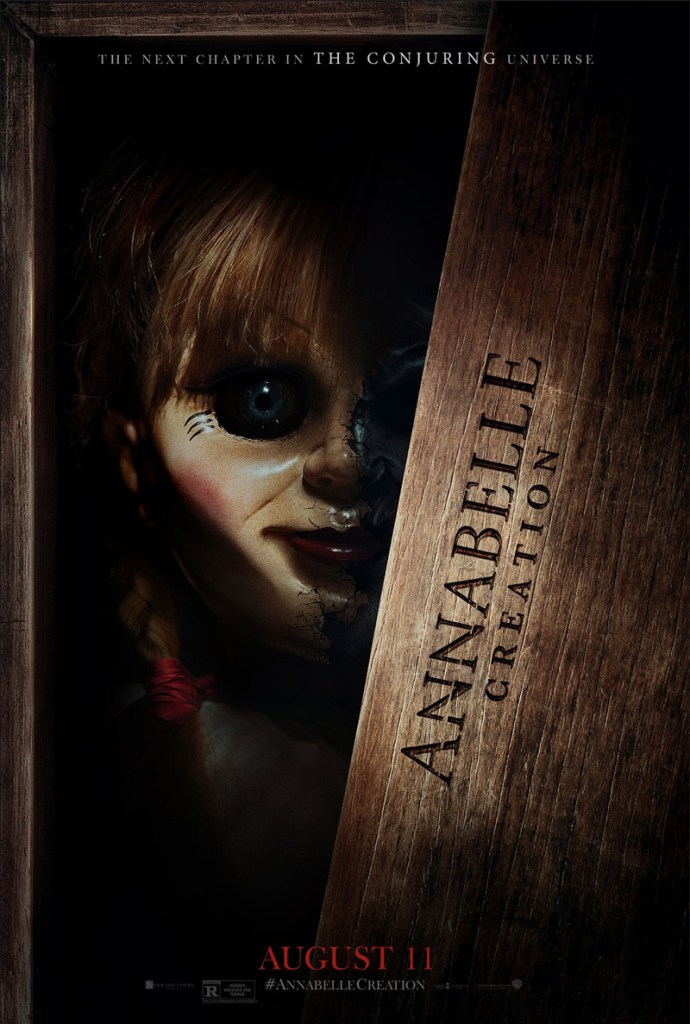 Annabelle- Creation Movie poster - India Release 2017