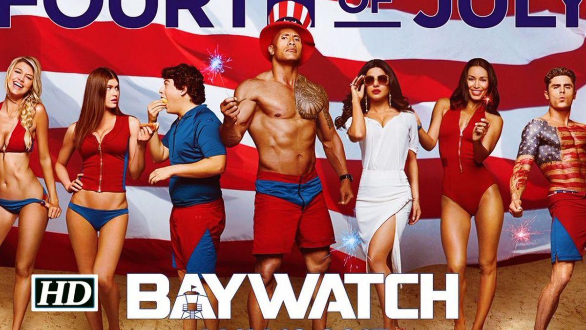 Dwayne Johnson & Zac Efron Teases Baywatch Trailer on Twitter
