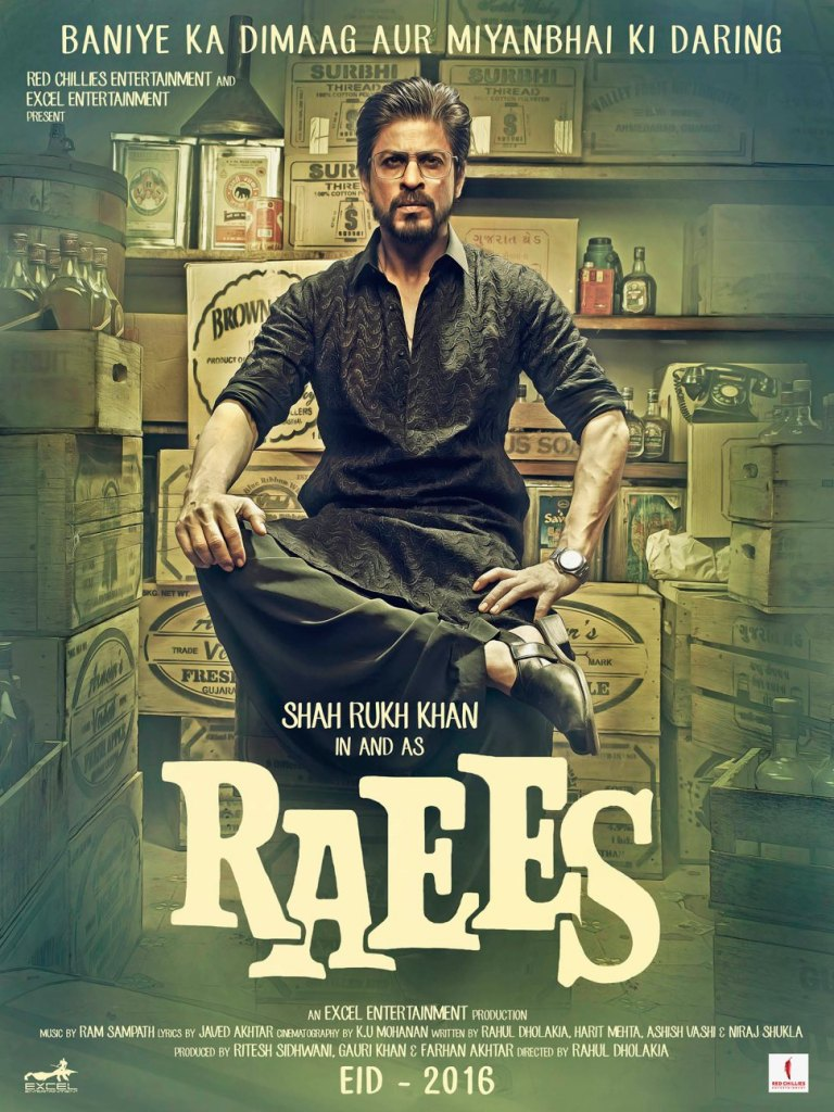 Raees Poster 1 - India Release