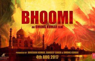 Sanjay Dutt comeback film- Bhoomi Teaser Poster