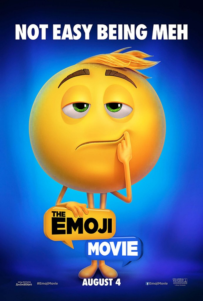 The Emoji Movie Poster 4- India Release 2017