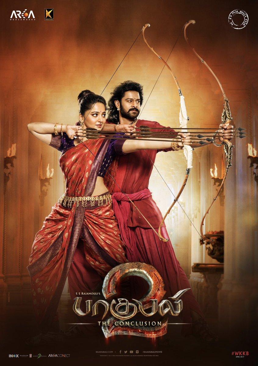 Baahubali 2 New Poster Featuring Prabhas & Anushka Shetty