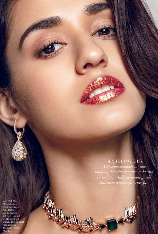 Disha Patani Photoshoot Verve Magazine January 2017 Image 5