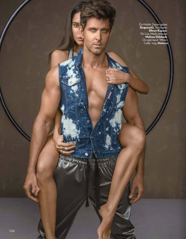 Hrithik Roshan & Lisa Haydon Vogue India Photoshoot January 2017 Picture 6
