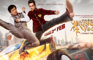 Kung Fu Yoga New Poster Featured Jackie Chan and Sonu Sood - India Release