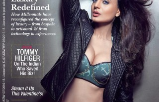 Ameesha Patel Photoshoot for The Cover of Man Magazine February 2017