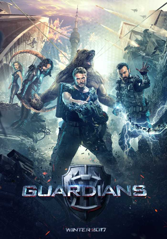 Guardians - The Superheroes Movie Poster 2- India Release 2017