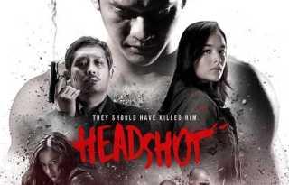 Headshot Movie Poster - India Release 2017