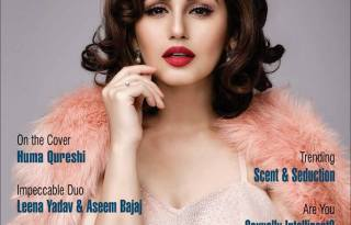 Huma Qureshi On The Cover Of Wedding Affair Magazine February-March 2017