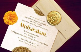 Mubarakan Movie Poster - India Release 2017