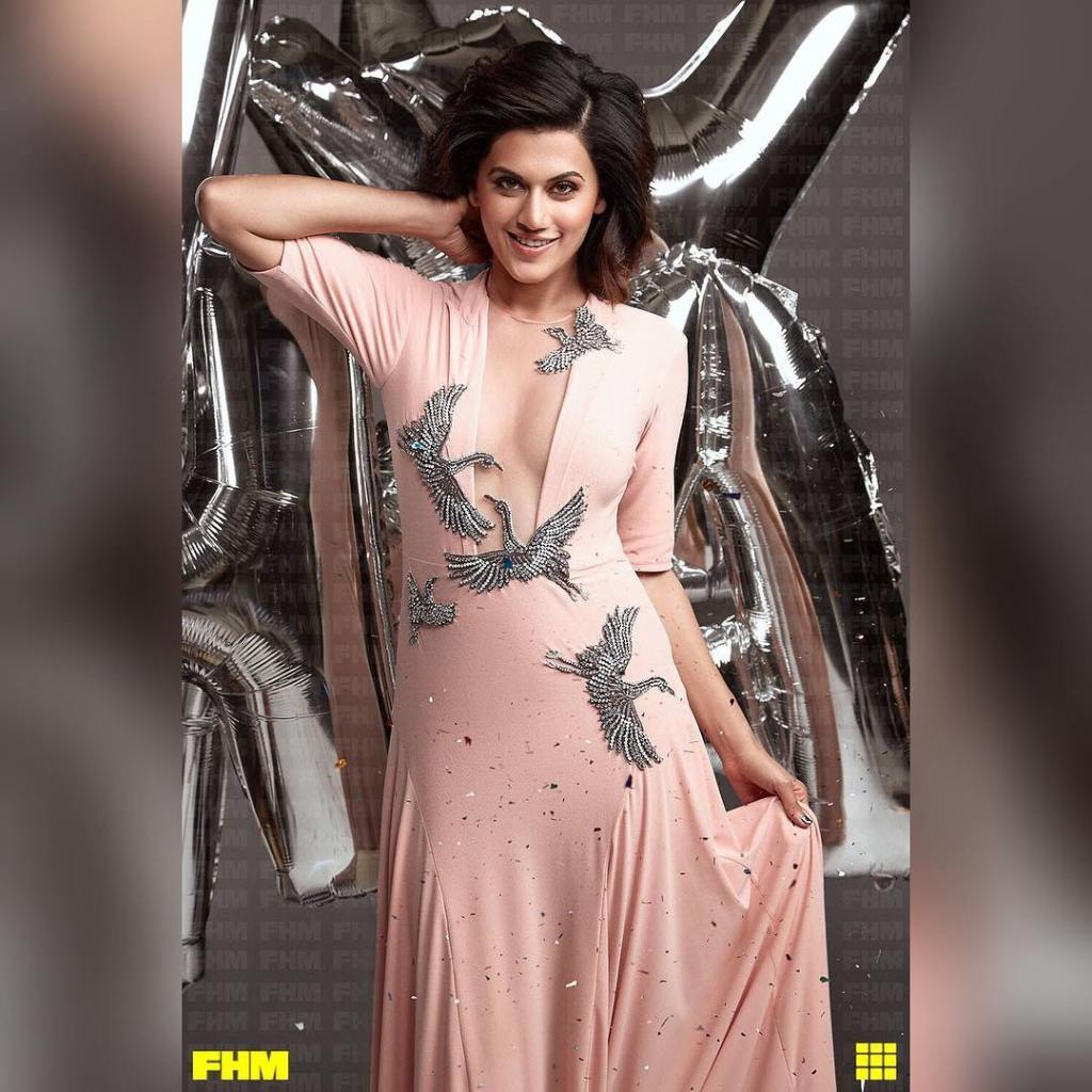 Taapsee Pannu Photoshoot For FHM India Magazine February 2017 Issue Image 5