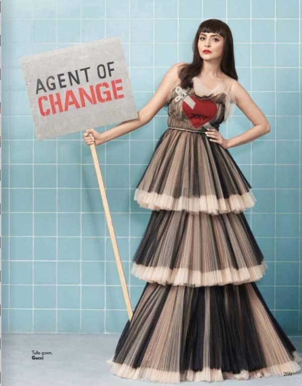 Anushka Sharma Photoshoot For Vogue India Magazine March 2017 Image 1