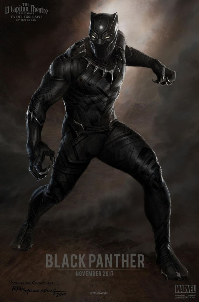 Black Panther Movie Poster - India Release 2018