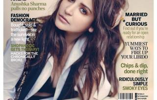Anushka Sharma on The Cover for Femina India Magazine April 2017