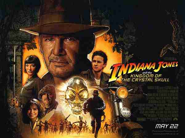 Review: INDIANA JONES AND THE KINGDOM OF THE CRYSTAL SKULL ...