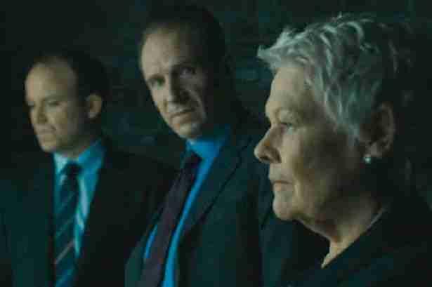 Skyfall - Ralph Fiennes and Judi Dench