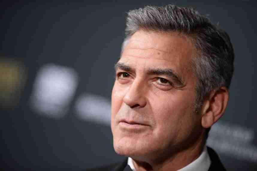 2. George Clooney