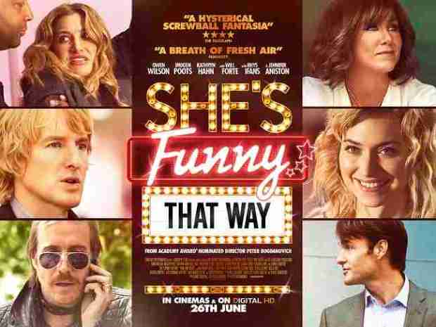 She's Funny That Way - UK Quad Poster