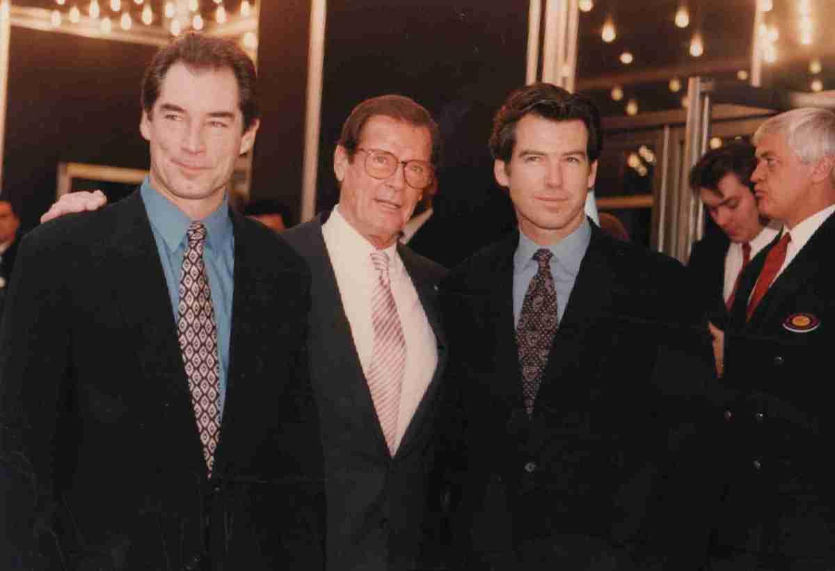 Bonded Together: Timothy Dalton, Roger Moore & Pierce Brosnan