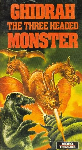 Ghidorah The ThreeHeaded Monster  DVD Covers and Posters  15777  The Movies Made Me Do It