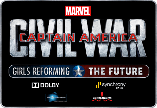 "Captain America : Civil War – ""Girls Reforming The Future"""