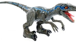 Mattels new Alpha Training Blue is the pet dinosaur youve always wanted