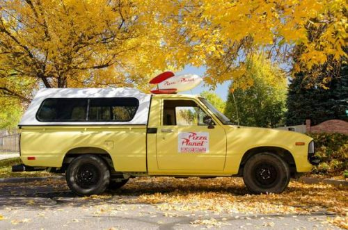 1983 Toyota Pickup Pizza Planet