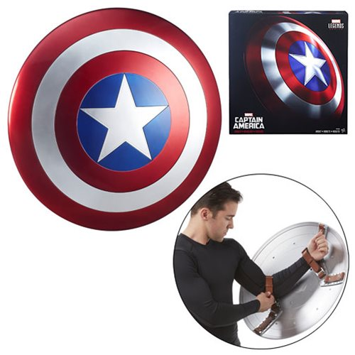853dd76a32934d2285e99d1500bb3264lg Marvel Legends Gear Captain America Shield Prop Replica
