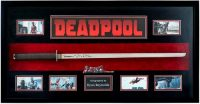 Marvel Deadpool Signed Ryan Reynolds Katana